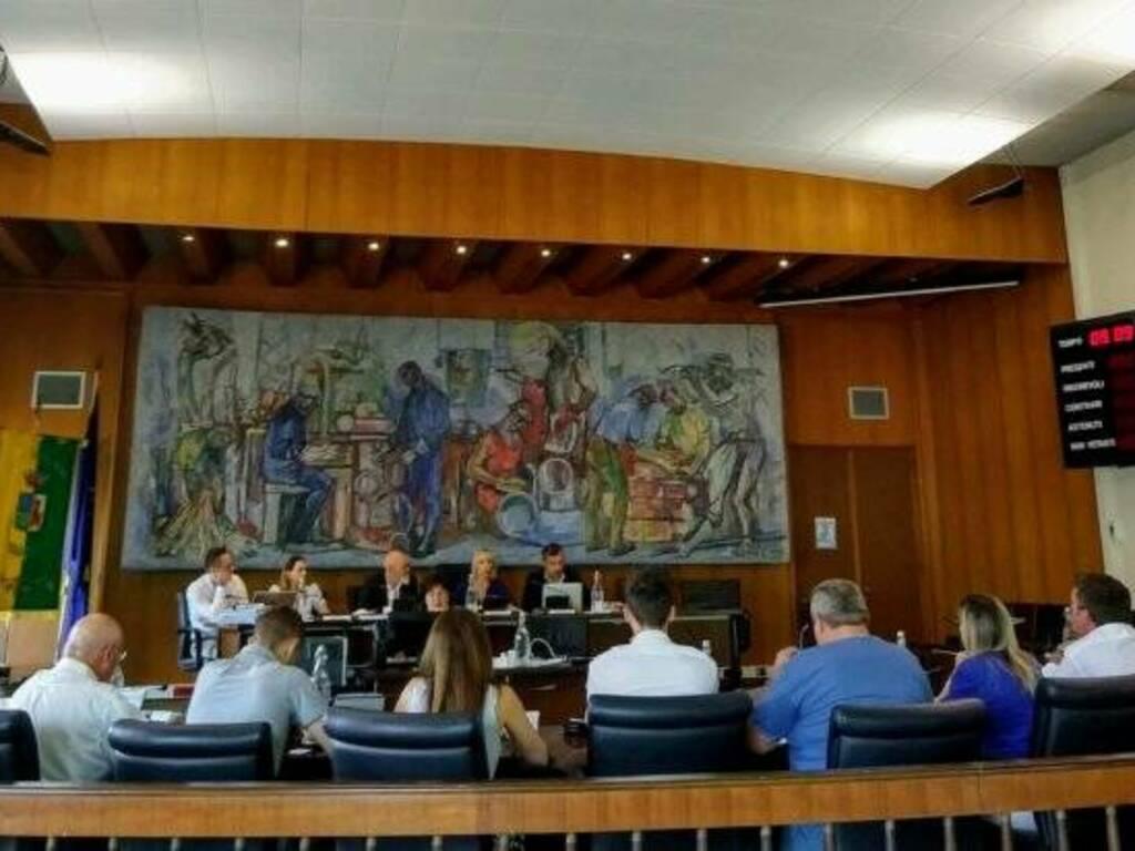 consiglio comunale dalmine (foto Nostra Dalmine)
