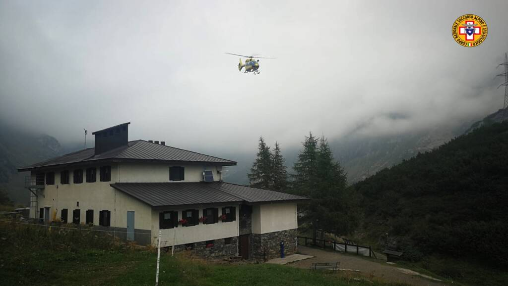elisoccorso elicottero ardesio
