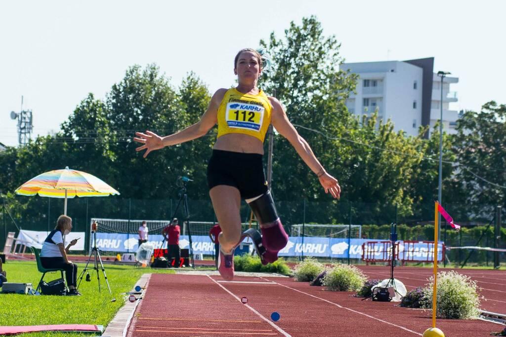 Martina Caironi - Campionati Italiani Paralimpici 2020