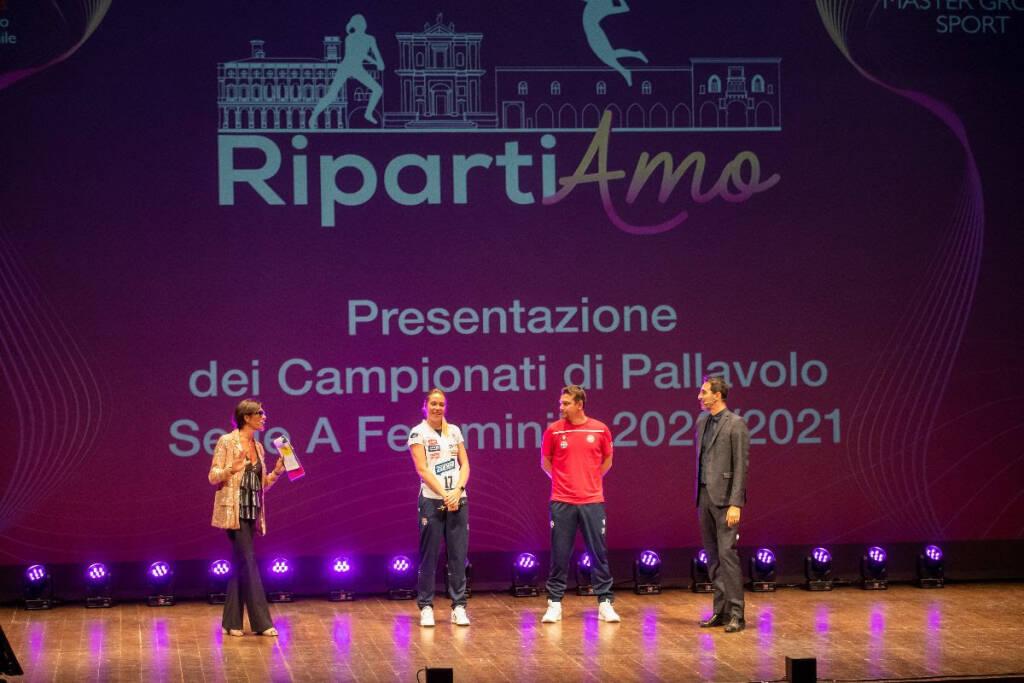 presentazione campionato 202072021 volley (Foto rubin/LVF)