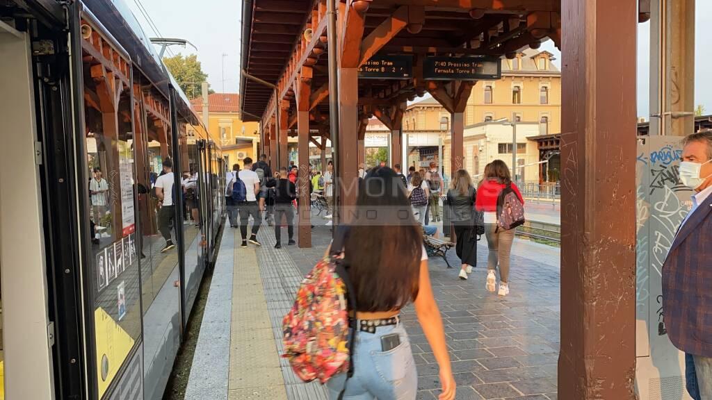 Primo giorno di scuola a Bergamo