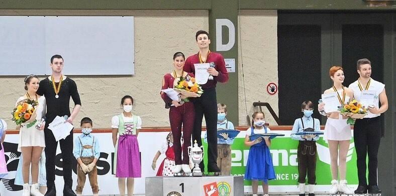Rebecca Ghilardi e Filippo Ambrosini - Nebelhorn Trophy 2020