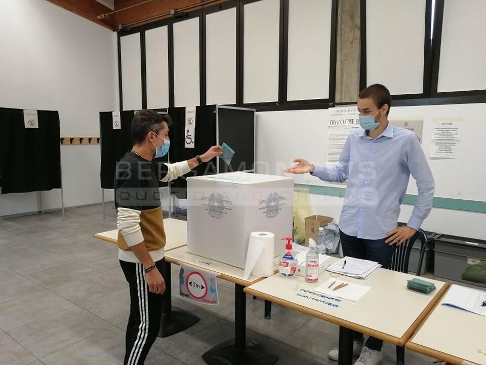 referendum 2020 bergamo (foto Cristina Masiello)