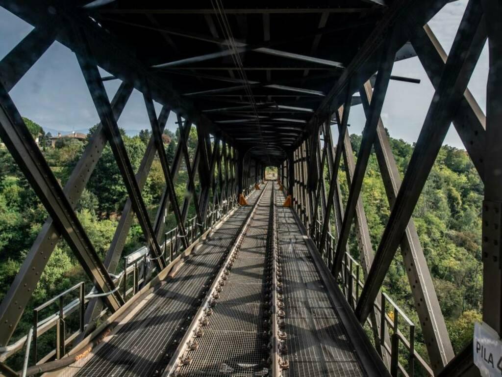 Riapertura del Ponte san Michele sull'Adda