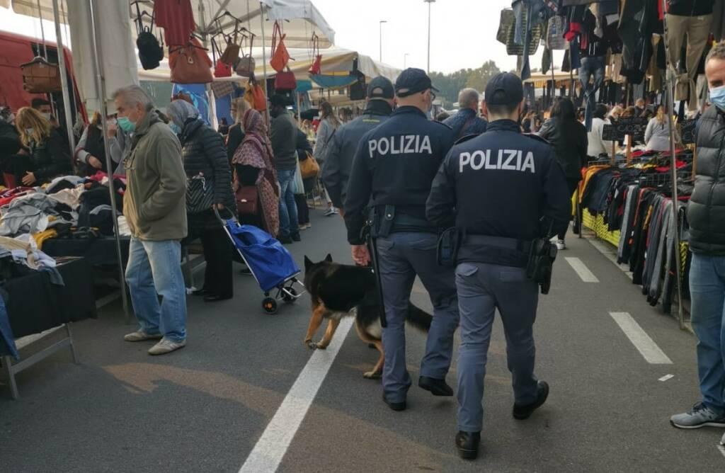 Bergamo, Polizia al mercato