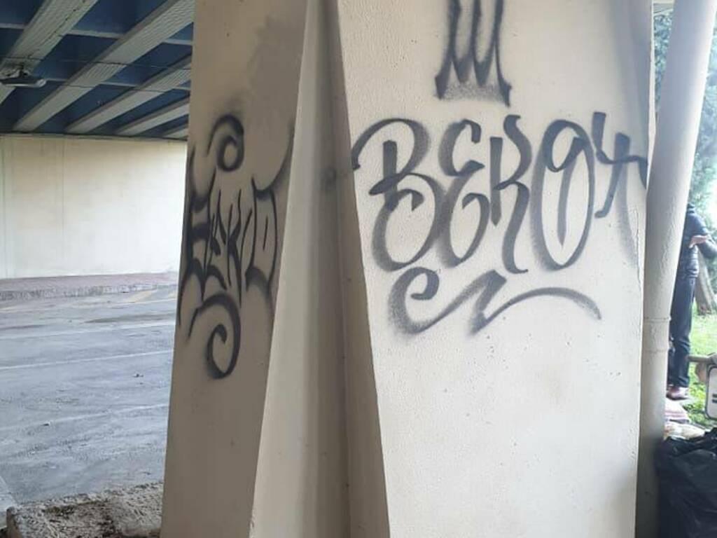 Scritte viadotto