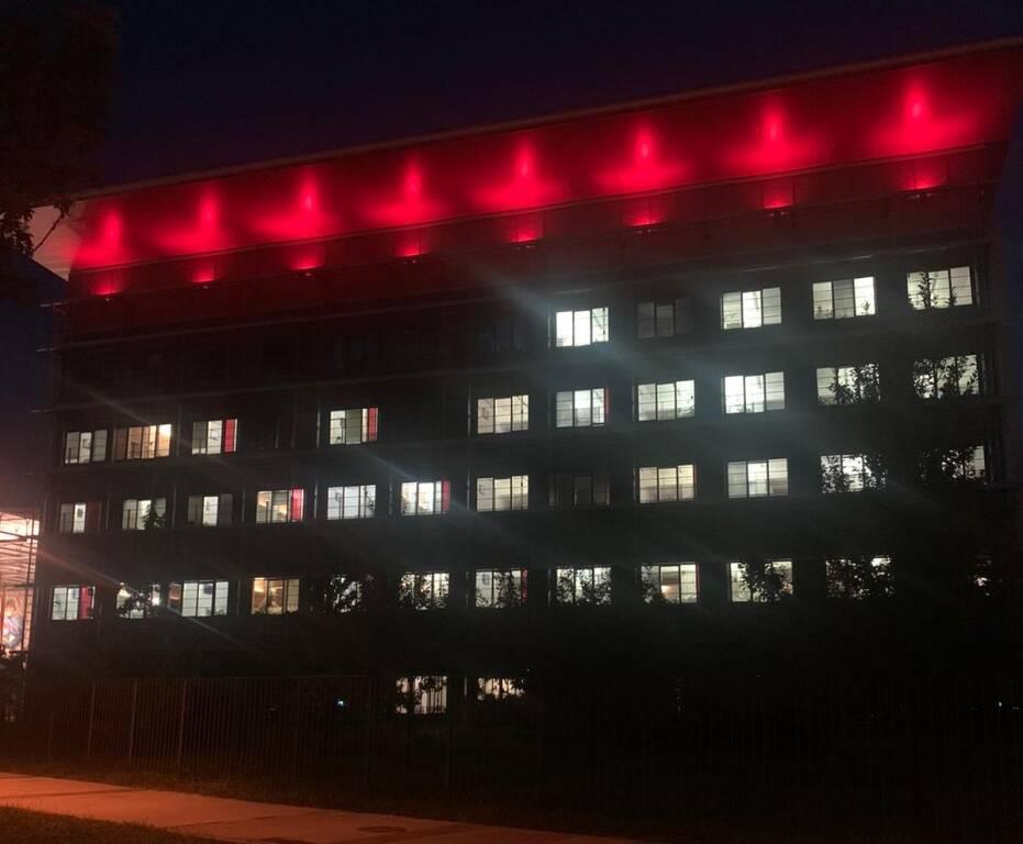 Ospedale illuminato