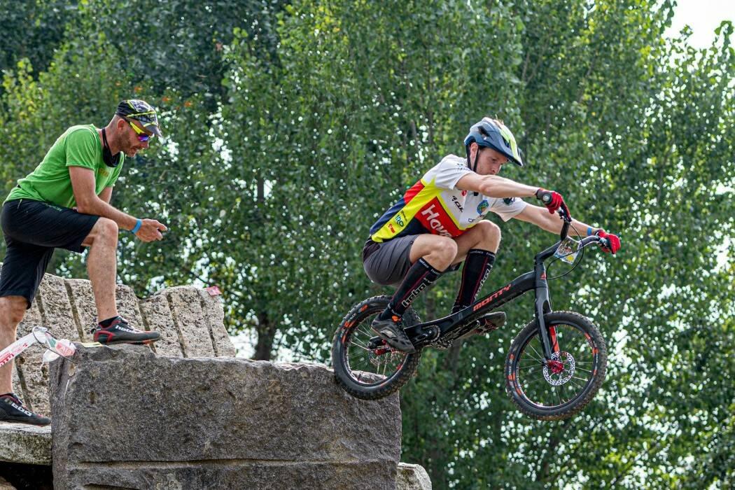 Luca Tombini - Campionato Italiano Bike Trial 2020