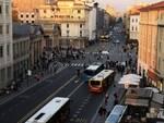 Manifestanti Bergamo