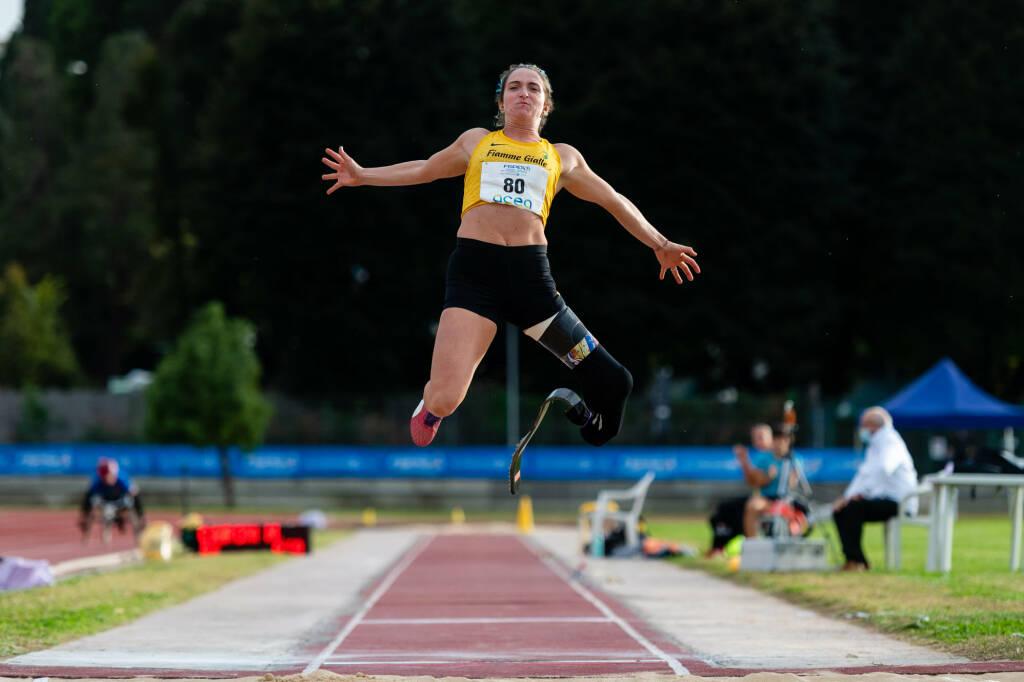 Martina Caironi - Campionati Italiani Paralimpici di Società 2020