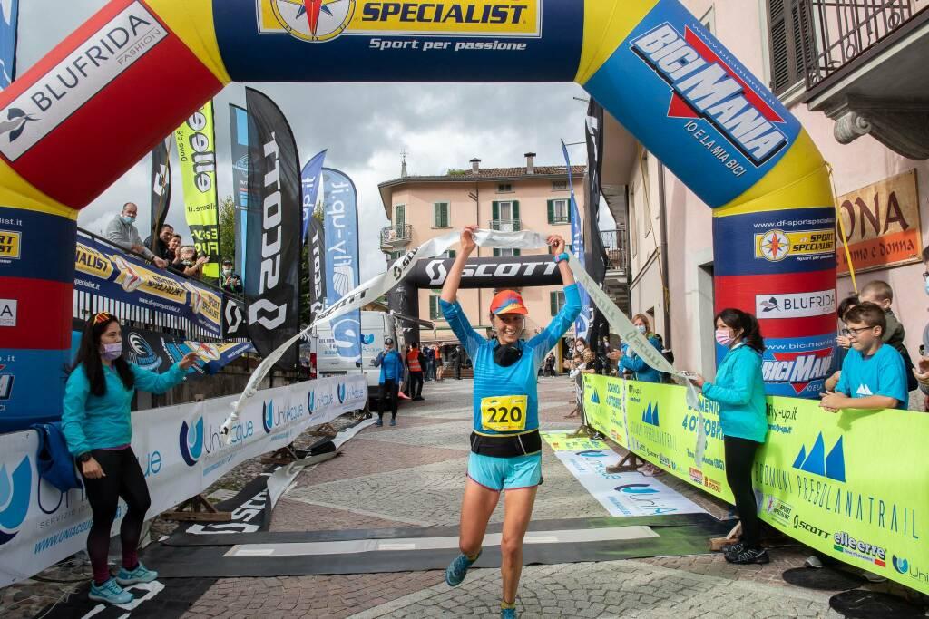 Paola Gelpi - Sei Paesi Presolana Trail 2020