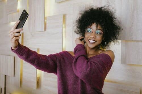 selfie (Foto Anna Shvets da Pexels)