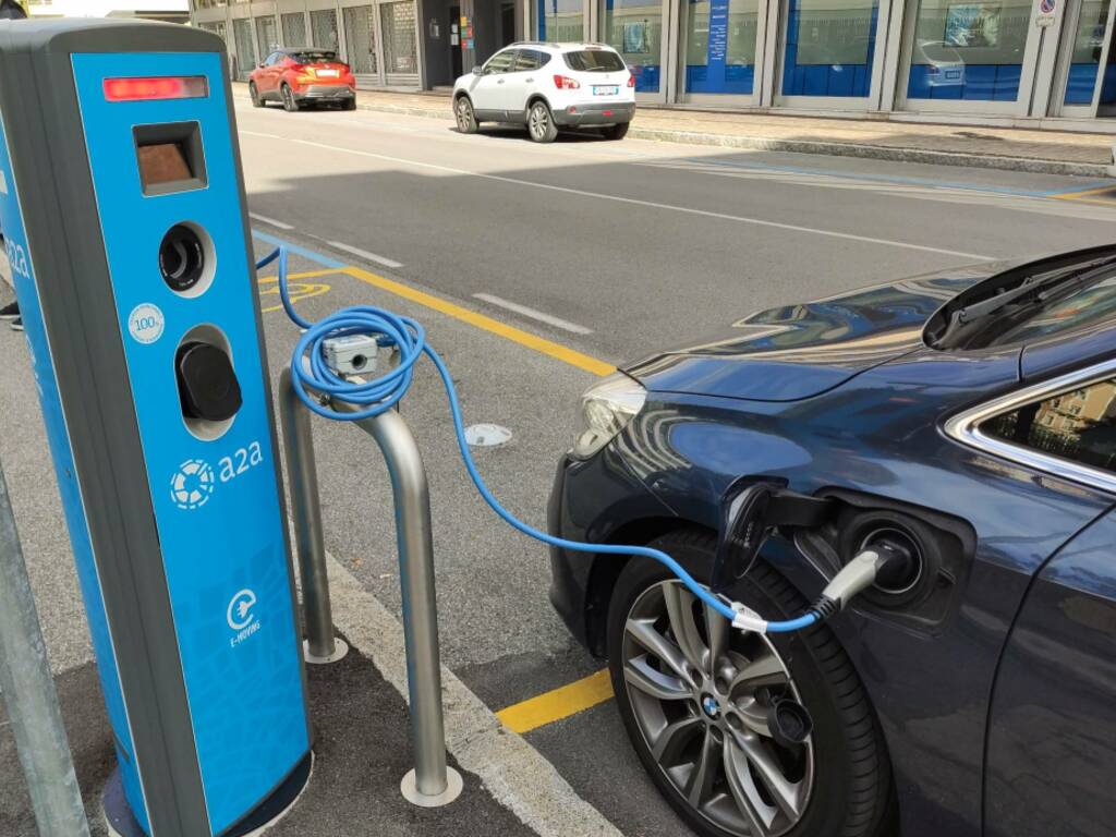 auto elettrica - foto Davide