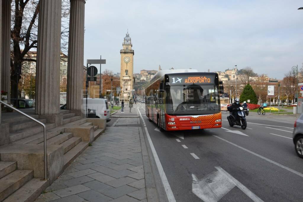 Bergamo, primo giorno del nuovo lockdown