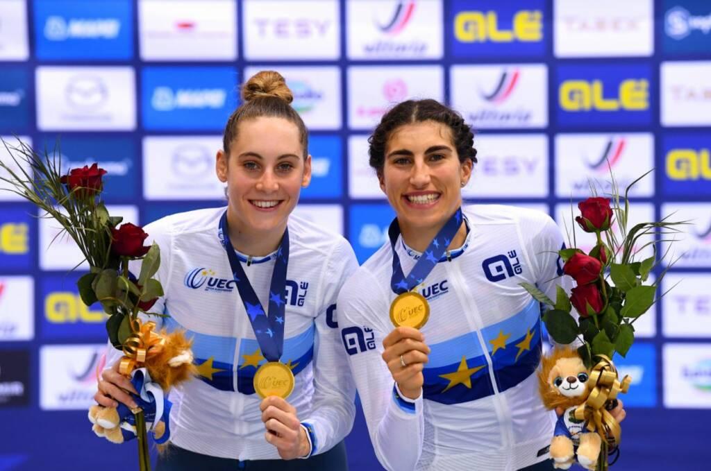 Elisa Balsamo e Vittoria Guazzini - Campionati Europei 2020