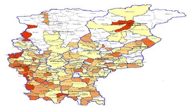 Mappa Ats Comune