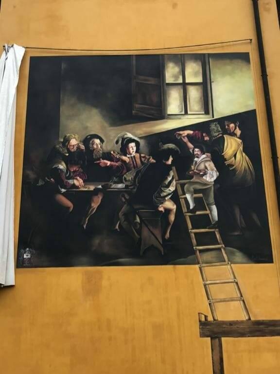 Murale Caravaggio