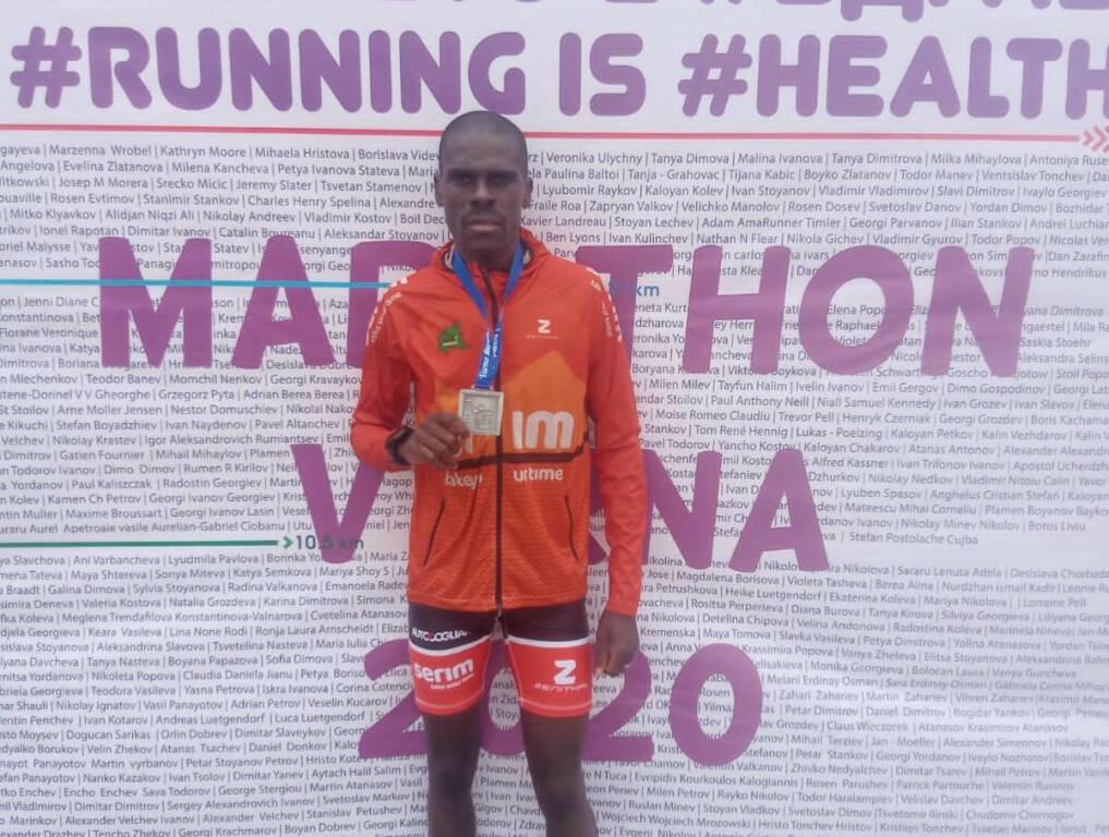 Jean Baptiste Simukeka - Maratona di Varna