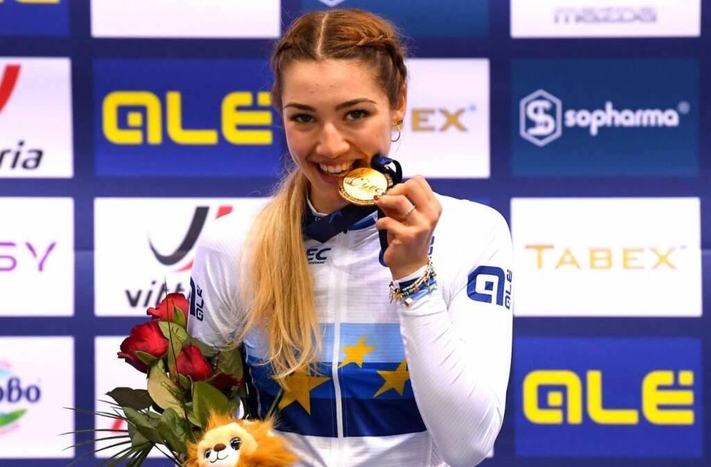 Martina Fidanza - Europei di ciclismo su pista 2020
