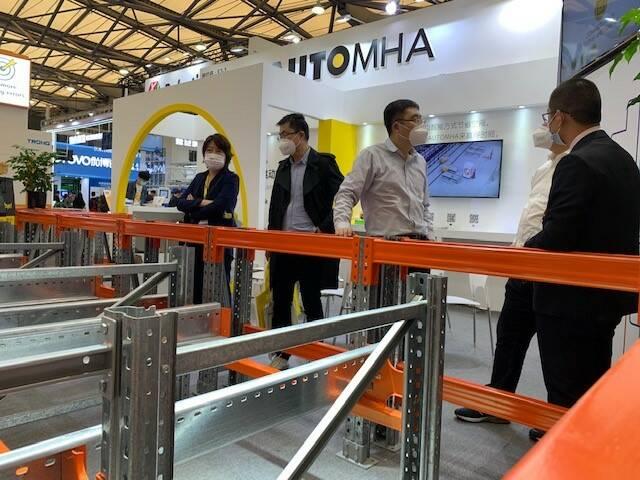 Presente anche a distanza: Automha partecipa a CeMAT Asia