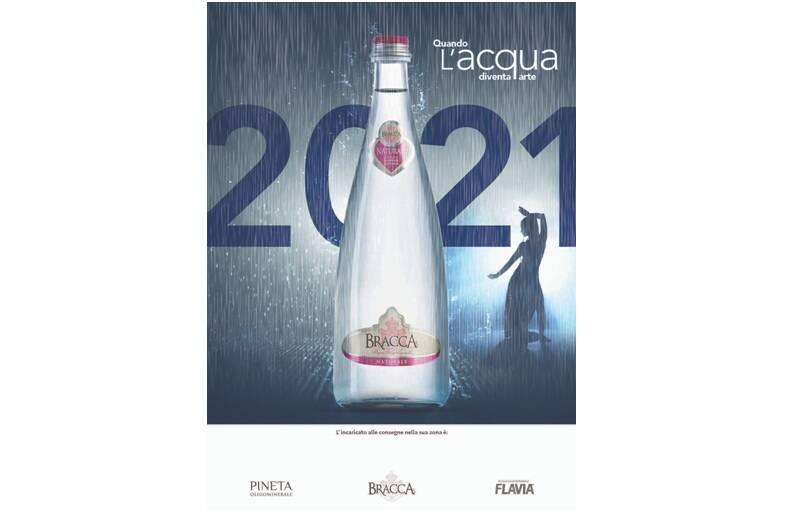 """""""Quando l'acqua diventa arte"""": il calendario 2021 del Gruppo Bracca"""