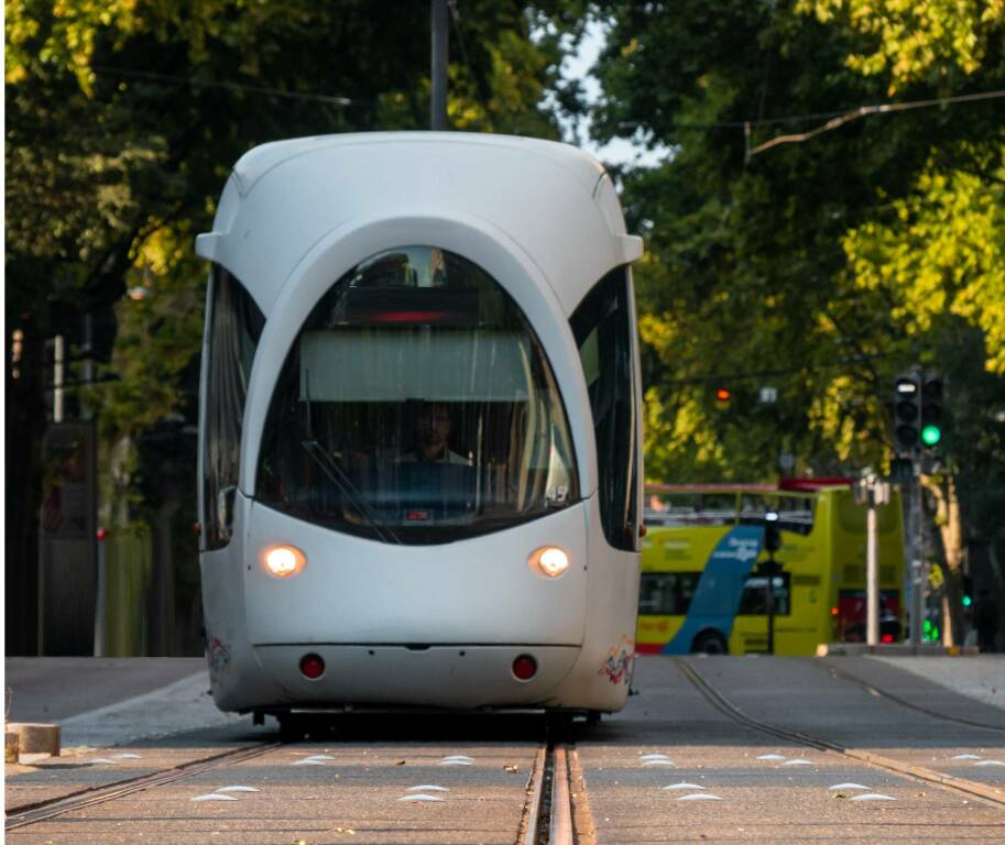 Tram Photo by Bastien Nvs on Unsplash