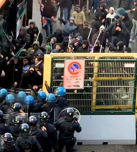 Atalanta Fiorentina scontri