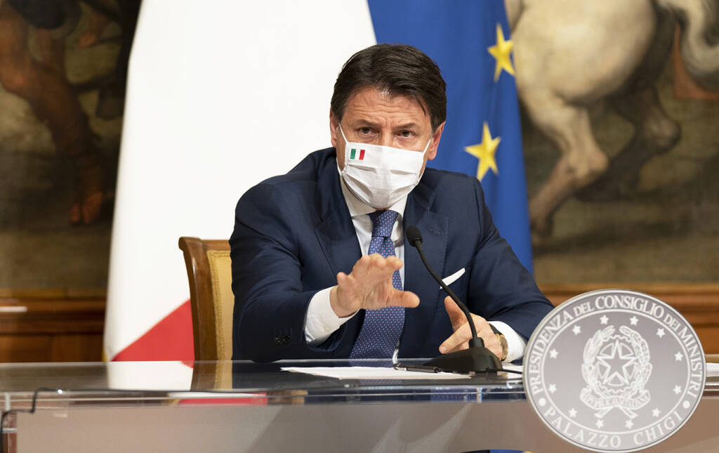 giuseppe conte (foto Governo.it)
