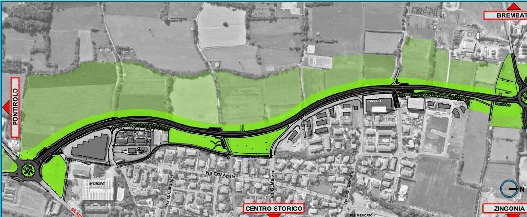 La provincia annuncia i tempi di realizzazione della circonvallazione di Boltiere