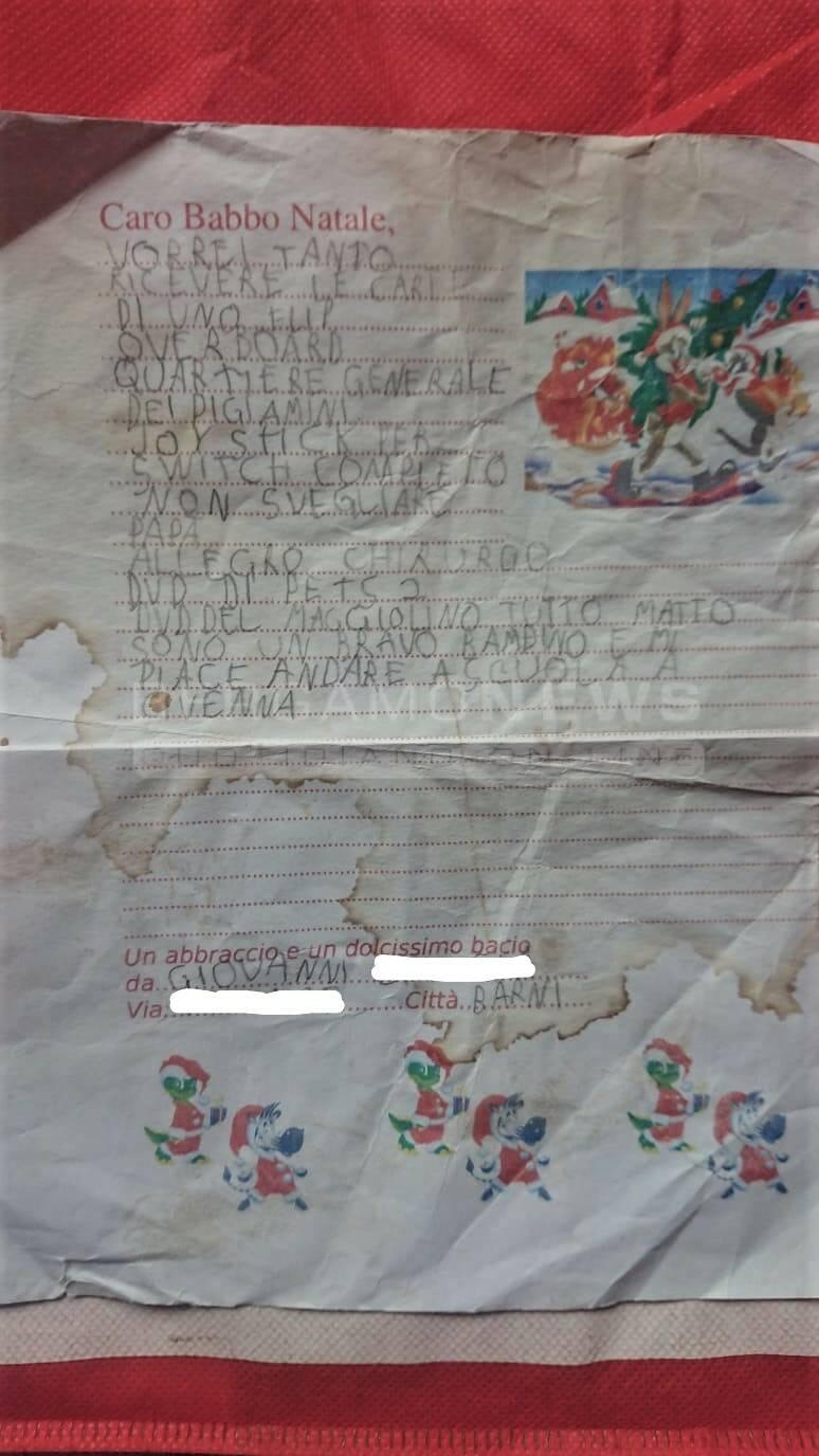 lettera natale mezzoldo