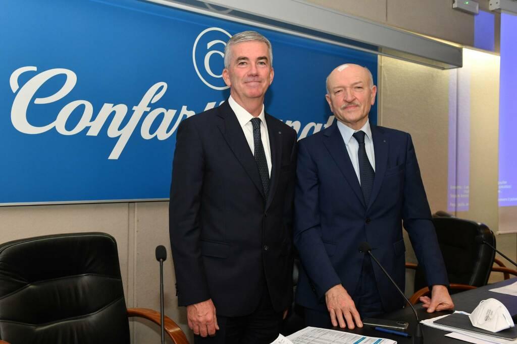 Marco Granelli e Giorgio Merletti