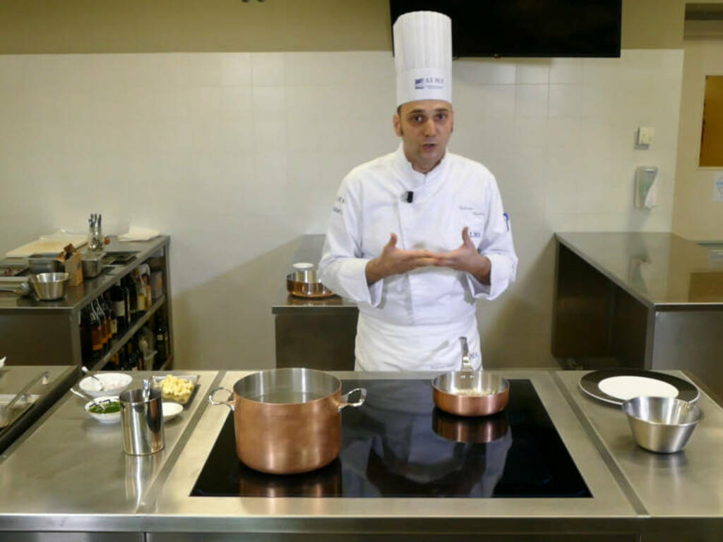 chef valerio cabri cooking