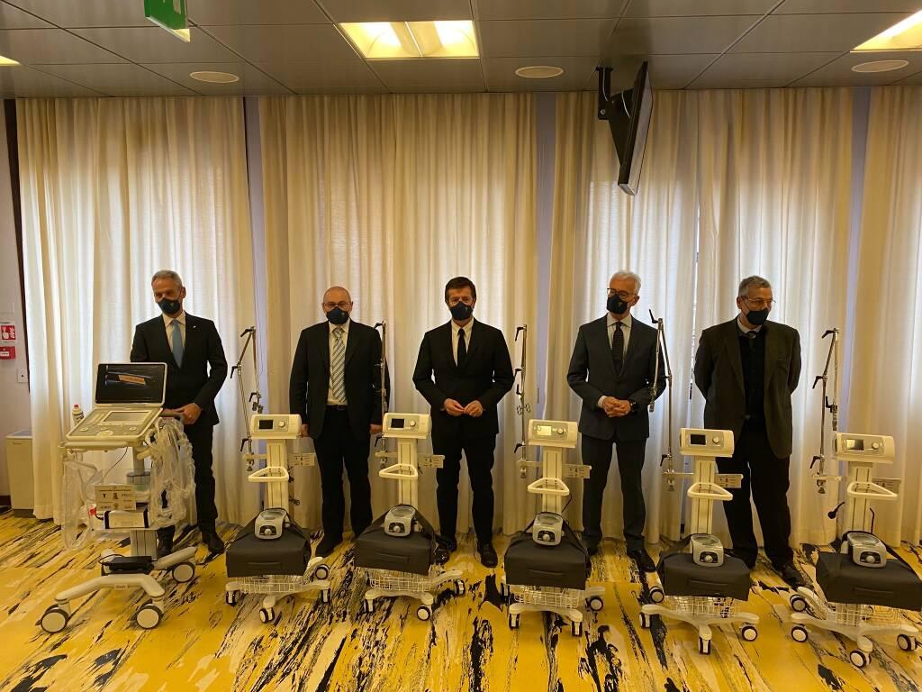 Dispositivi medicali donati da ats