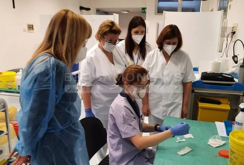 formazione vaccinazione ospedale alzano