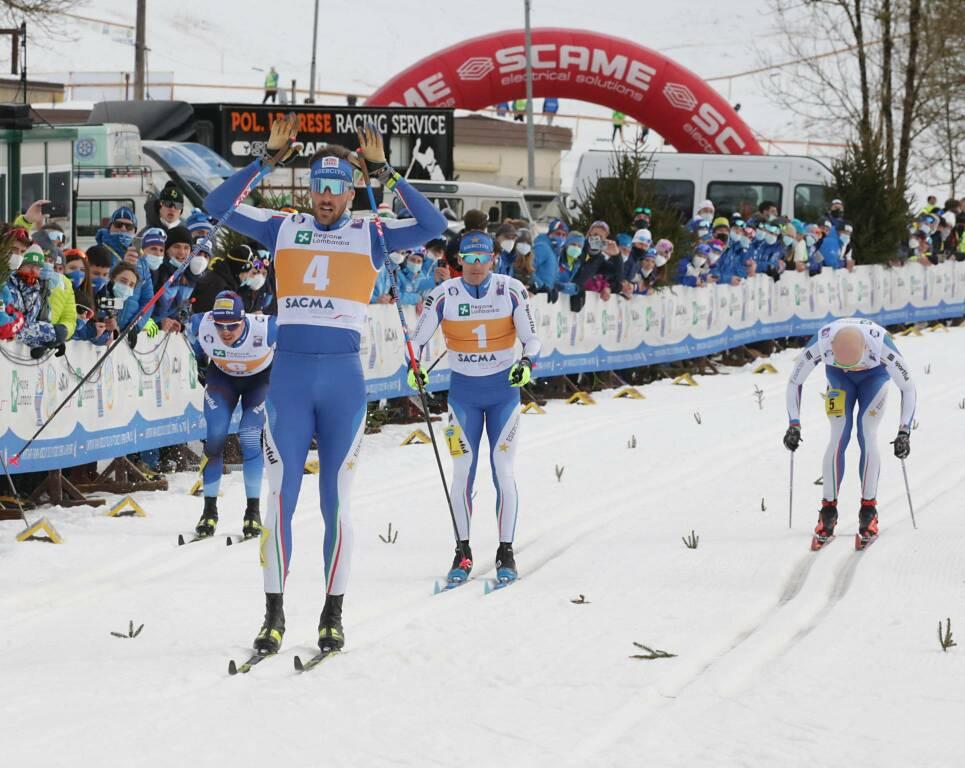 Giacomo Gabrielli - Campionati Italiani Sprint Sci di fondo 2021