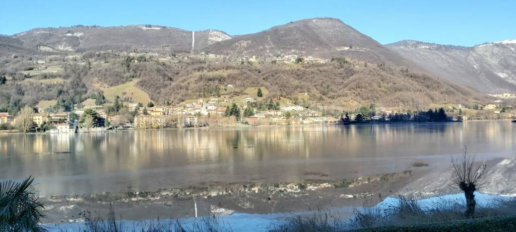 lago di endine ghiacciato 2021 (Francesco Meli)
