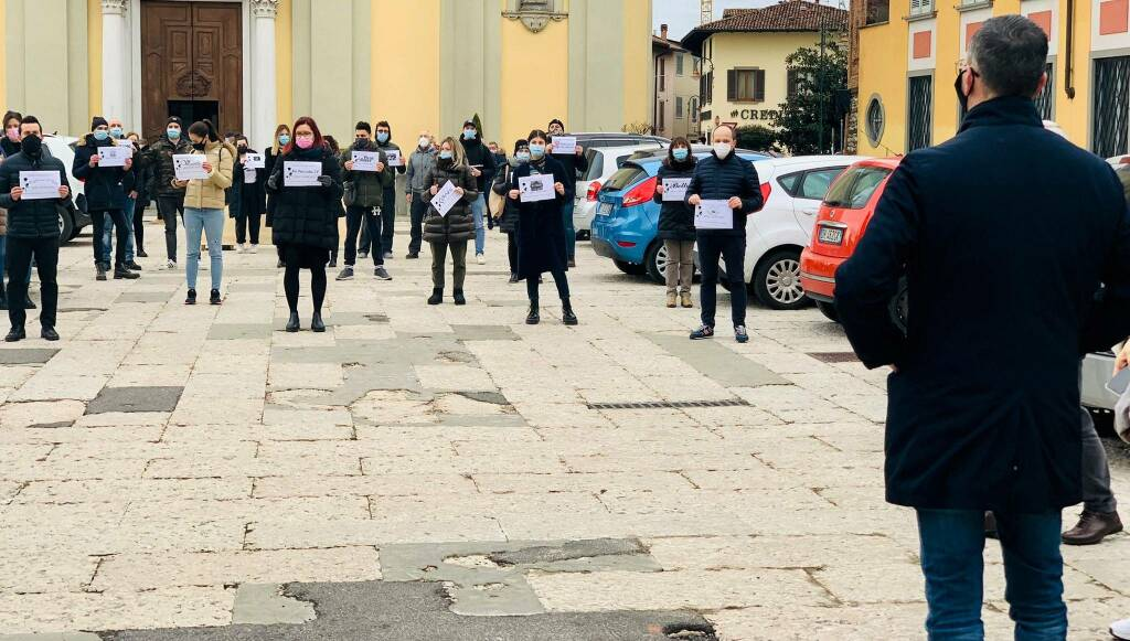 Protesta Cologno al Serio