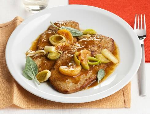 scaloppine ai mandarini (Sale&Pepe)