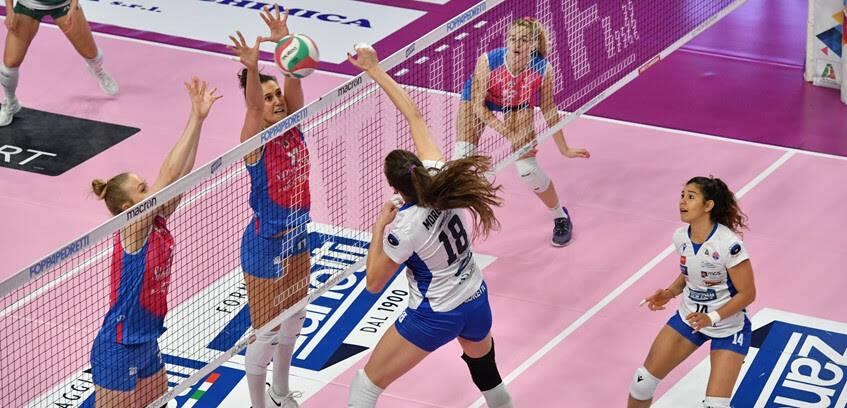 zanetti saugella (Foto dal sito Volley Bergamo)