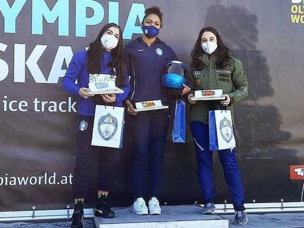 Alessandra Fumagalli - Campionati Italiani skeleton 2021