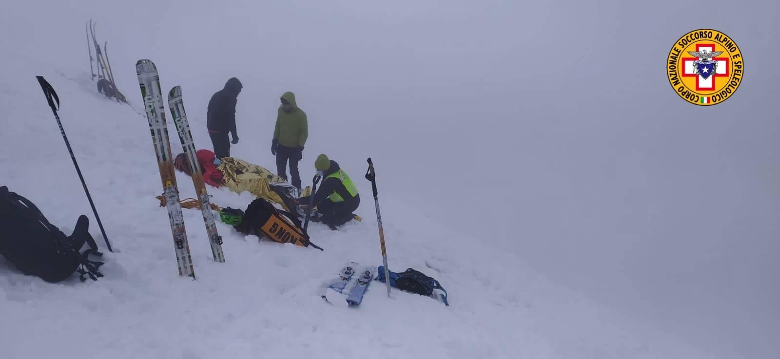 alpinisti caduti sul monte Grem