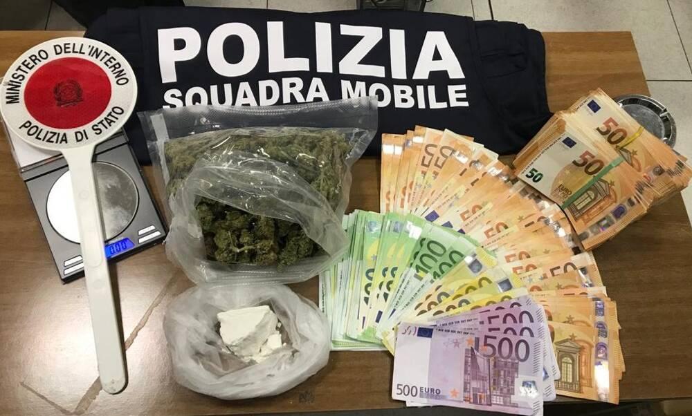 arresto droga telgate