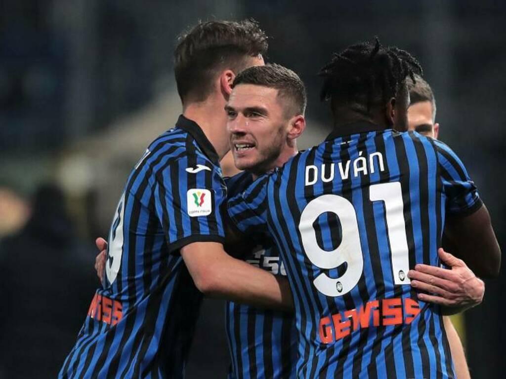 Atalanta, è qui la festa: Napoli battuto e finale di Coppa Italia ...