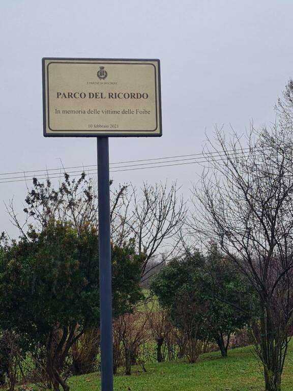 Boltiere: nasce il parco del Ricordo