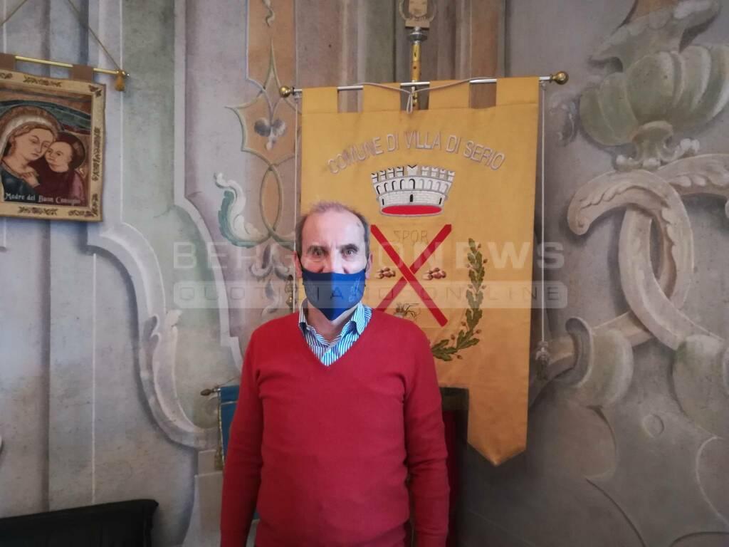 Bruno Rota sindaco Villa di Serio