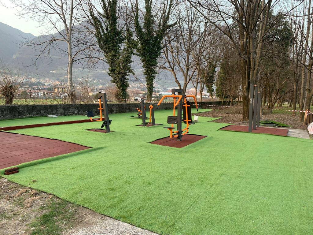 Area fitness Costa Volpino