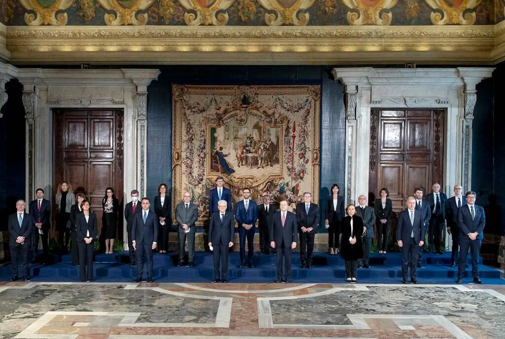 giuramento del Governo Draghi