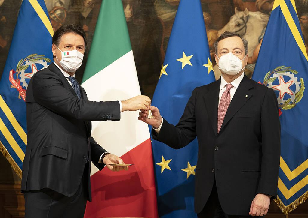 Insediamento Governo Draghi