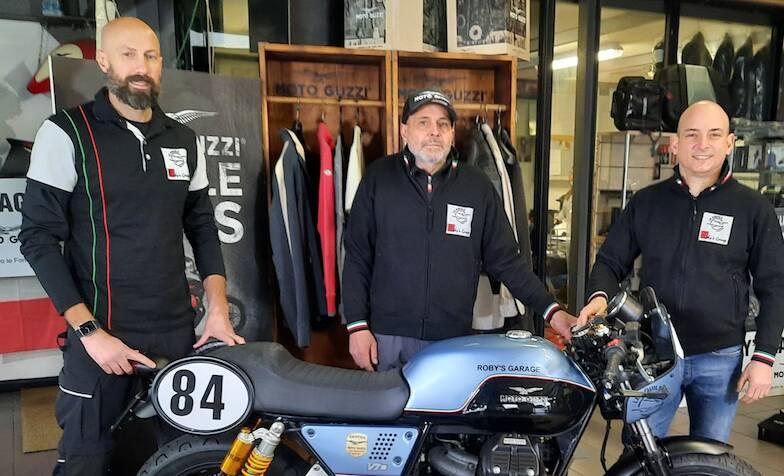 Le Aquile di Roby's Garage al trofeo Moto Guzzi Fast Endurance European Cup