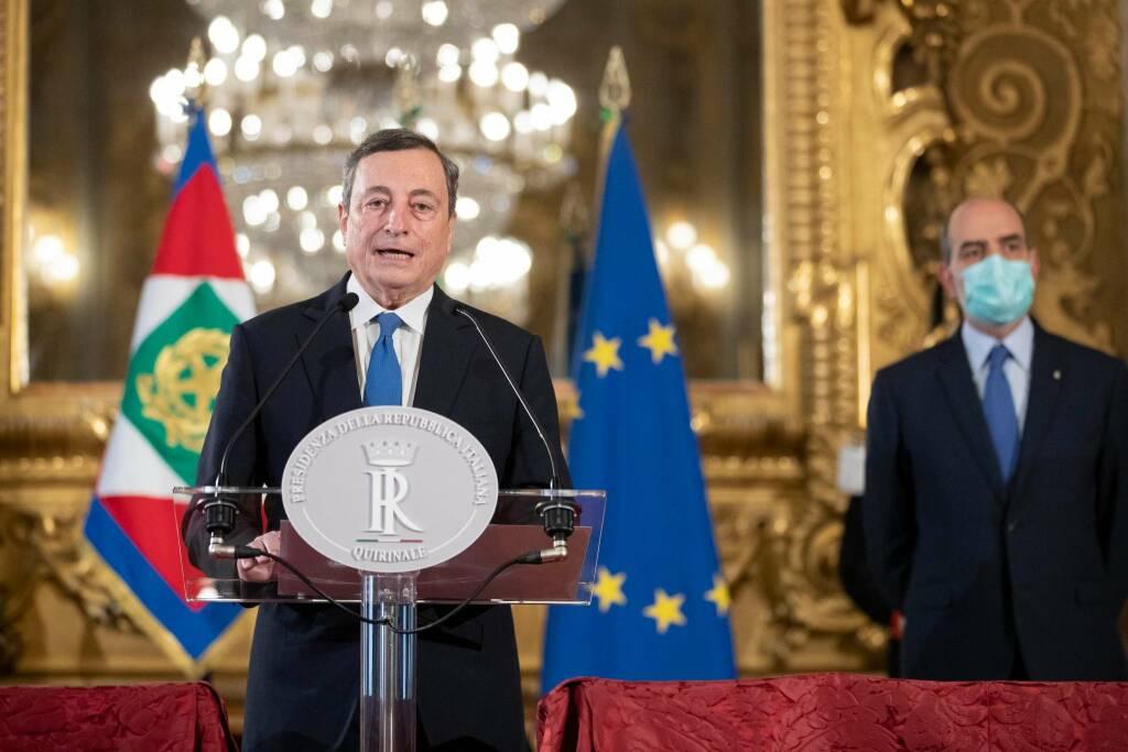 Mario Draghi - Fonte Quirinale